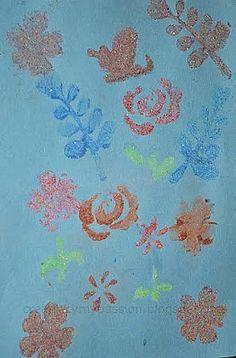 Kids Art: Stencil Sand Art | Craft To Art
