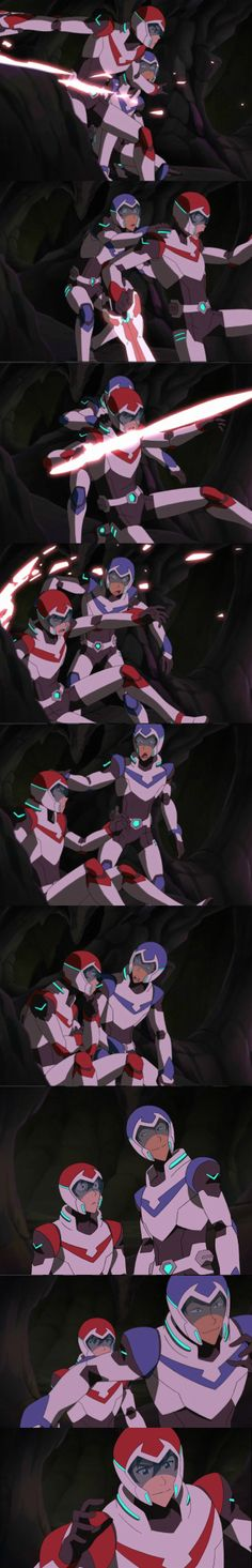Keith / Lance | what i love about this is that it actuallly happened