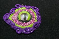 Polymer Clay Dragon Eye
