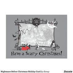 Save 60% on Nightmare Before Christmas photo cards at Zazzle (thru 10/20)!  Use code:  PREP4HOLIDAY. http://www.zazzle.com/nightmare_before_christmas_holiday_card-161670777433188939?rf=238704215597517808
