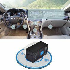 ELM327 V1.  5 Bluetooth OBDII OBD2 diagnostic scanner tool with on / off switch