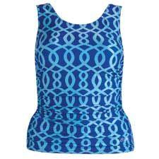 Shirred Top - Long Torso - Eight Overlay Chlorine Resistant Swimwear, Long Torso, Overlay, Swimsuits, Tops, Fashion, Moda, Fashion Styles, Bathing Suits