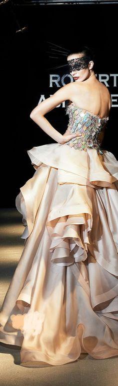 Robert Abi Nader SS designer evening dresses,designer evening dress v