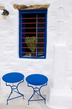 This Pic is part of the Cyclades Set here. Beautiful World, Beautiful Places, Amazing Places, Greece Art, Greek Blue, Greece Islands, Art And Architecture, Mediterranean Architecture, Santorini
