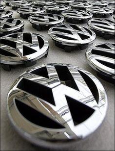 VW Logo - Emblem - Badge
