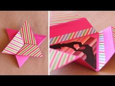 ▶ Tarjeta Estrella Scrapbook [FACIL] // Star card DIY - YouTube