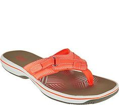 6d679ced901c Clarks Sport Thong Sandals - Breeze Sea