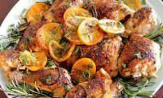 Easy Chicken Recipes - Herb and Citrus Oven Roasted Chicken Parts Recipe - The Best Chicken Recipes Great Chicken Recipes, New Recipes, Cooking Recipes, Recipe Chicken, Lemon Chicken, Italian Chicken, Kraft Recipes, Cooking Tips, Easy Recipes