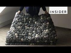 (2) Felt Stone Rug - YouTube