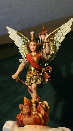 Archangel Michael, Orisha, Cherubs, Michel, Red And White, Princess Zelda, St Michael, Archangel, Lab Coats