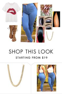 """Gladi"" by desireebeebe ❤ liked on Polyvore featuring Cotton Candy"