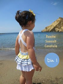Sunsuit Romper by Cosotela - Free pattern and tutorial