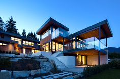 Exterior | Westcoast contemporary home by Best Builders Ltd. | Ema Peter Photography