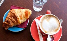 Paris in Spring. #budgettravel #travel #Paris #France #cafe #coffee #croissant #foodie #food #foodporn #spring #beautiful #inspiration #tips BudgetTravel.com