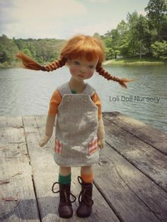 Pilar - Pippi inspired art doll Lali Doll Nursery