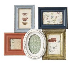 Small Multicoloured Picture Frame By Nordal from notonthehighstreet.com