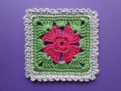 Granny squares with flowers have a certain type of charm. That's maybe because they remind us of spring or summer or maybe just because flowers have positive meaning for all of us. This 4 Petal Flower Square by Claire from Crochet Leaf is unbelievable cute and delicate and simple. So simple and so beautiful!   …
