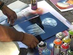 Spray Paint Art in Paris