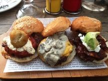 Meals for under Bagel, Hamburger, Bread, Meals, Chicken, Ethnic Recipes, Cape Town, Food, Concept