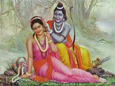 Lord Rama And Mata Sita