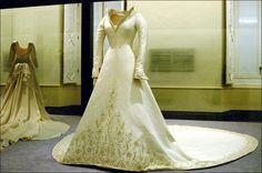 Vestido de novia de Letizia.