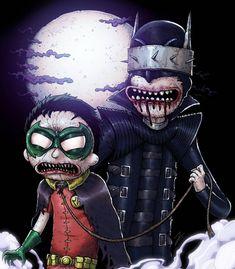 Rick and Morty x Batman
