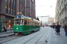 Trams of Helsinki, Aleksanterinkatu street.