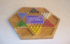 Hexagon Wood Chinese Checkers