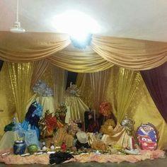 Trono Oshun Altar, Ifa Religion, Game Of Love, Goddess Of Love, Orisha, Fashion Dolls, Rainbows, Painting, Spirit