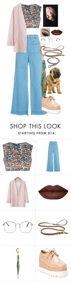"""Untitled #631"" by jaden-cashew-hottie ❤ liked on Polyvore featuring Glamorous, Maison Père and Gucci"