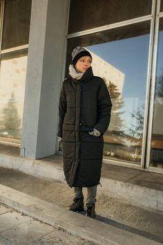 płaszcz KOŁDERKA - METR64 - Torby Nerki Plecaki... Canada Goose Jackets, Winter Jackets, Fashion, Winter Coats, Moda, Fashion Styles, Fasion