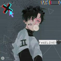 I'm so sick this fake love Sad Anime, Anime Kawaii, Anime Love, Manga Anime, Gothic Anime, Chibi, Estilo Anime, Sad Art, Hot Anime Guys