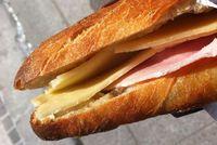 Un sandwich jambon fromage de folie!