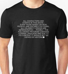 South Park - Disclaimer T-Shirt