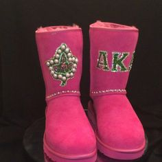 Custom AKA boots. Yes!!!