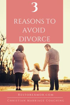 3 Reasons To Avoid Divorce - Restore Amor Communication In Marriage, Intimacy In Marriage, Biblical Marriage, Fighting For Your Marriage, Saving Your Marriage, Save My Marriage, Advice For Newlyweds, Best Marriage Advice, Christian Wife