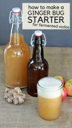 Kefir, Ginger Bug, Turmeric Water, Kombucha Recipe, Fermentation Recipes, Dandelion Recipes, Natural Colon Cleanse, Natural Cough Remedies, How To Make Beer