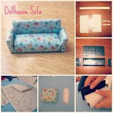Image result for how to make dollhouse furniture out of household items