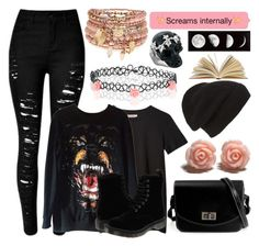 """""""Random 830"""" by bandlover11132 ❤ liked on Polyvore featuring мода, Givenchy, Dr. Martens, Monsoon, Phase 3, Accessorize, Alexander McQueen, women's clothing, women и female"""