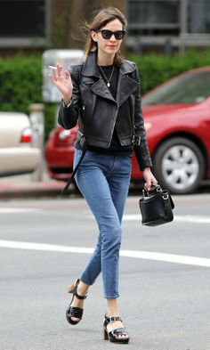 Alexa Chung Out In New York, May 2012