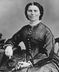 """""""I may be compelled to face danger, but never fear it, and while our soldiers can stand and fight, I can stand and feed and nurse them.""""       ~  Clara Barton           """"Angel of the Battlefield"""""""