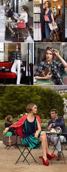 #louis #vuitton #look #book #lookbook #campaign #spring #2012 #paris
