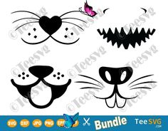 Funny Face Mask Animal SVG Pattern Bundle Dog Cat Shark Bunny Designs | Teesvg Get and Print or cut this Funny Face Mask Animal SVG Pattern Bundle on a facemask or any other printings & show it off to the world. It makes an amazing gift for kids toddlers men women. #teesvg #cricut #cricutmade #svgfiles #diy #crafts #prints #etsy #etsyshop #etsysale  #facemask #Quarantine diy medical face mask pattern free printable, diy face mask sewing pattern diy easy, kids face mask pattern free… Animal Face Mask, Animal Faces, Diy Mask, Diy Face Mask, Cute Faces, Funny Faces, Crown Royal Bags, Funny Face Mask, Scary Mask