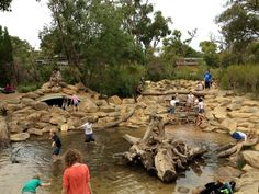 Rio Tinto Naturescape, Kings Park - Buggybuddys guide for families in Perth Perth Australia, Australia Travel, Western Australia, Natural Playground, Playground Ideas, Kings Park, City Art, Outdoor Projects, Landscape Design
