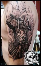 Картинки по запросу medieval knight tattoo