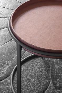 #giulio table and tray #handmadeinitaly by #giobagnara