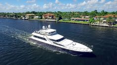 The 28.14 metre motor yacht First Home, listed for sale by Chris Collins at Ocean Independence, has had a $100,000 price reduction.