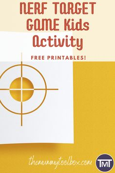 You don't even need a special occasion to play this target game! But it does make birthday parties and other occasions (summer holidays and lockdown spring to mind!) more fun.