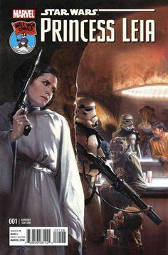trerry dodson leia | Marvel, Princess Leia #1: le variant cover di Dell'Otto, Guice e ...