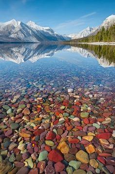 Lake McDonald, Glacier National Park, Montana...Must see this lake!
